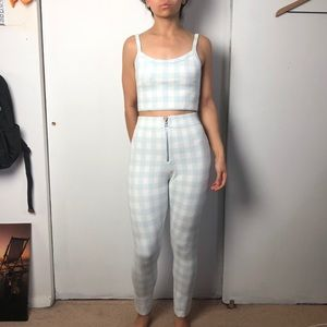 Urban Outfitters Checkered Set